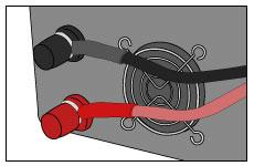 他社の正弦波インバーターの接続図