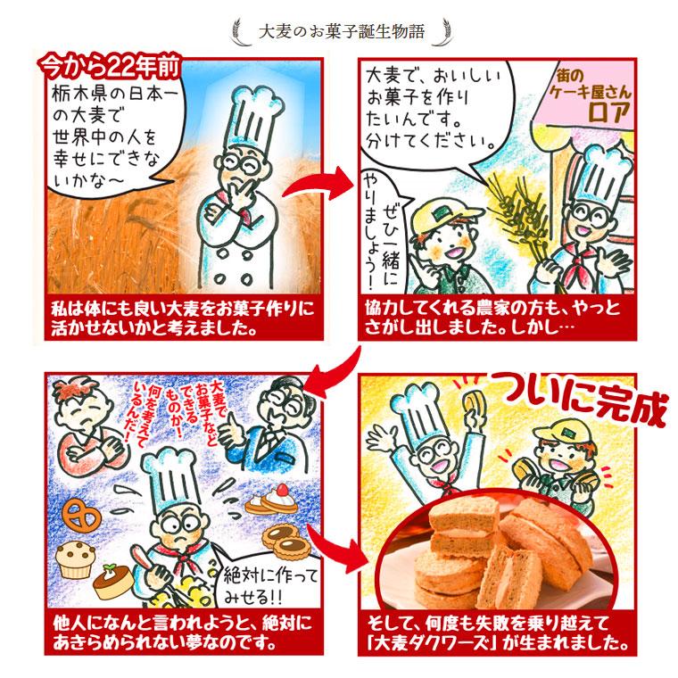 大麦のお菓子誕生物語