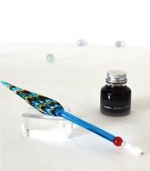 文具屋の筆記用具 筆記具 ガラスペン 孔雀