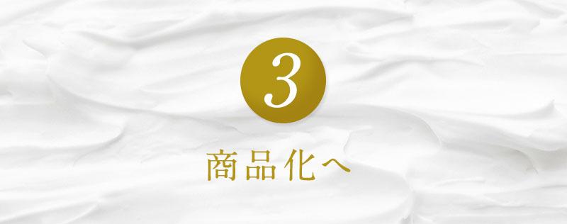 3.商品化へ