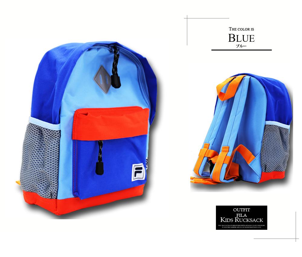 Outfit Style  FILA Fila kids backpack girl boy daypack backpack S ...