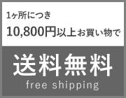 10800円以上のお買い上げで1か所送料無料