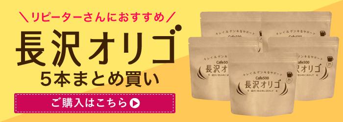 長沢オリゴ オリゴ糖 5本まとめ買い