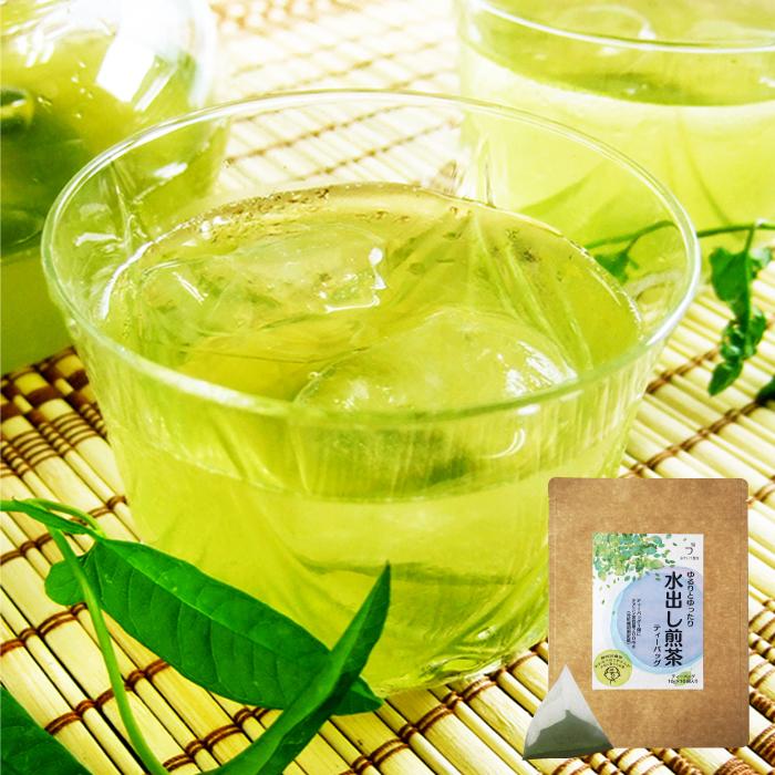 水出し煎茶ティーバッグ ポット用 緑茶 テアニン茶