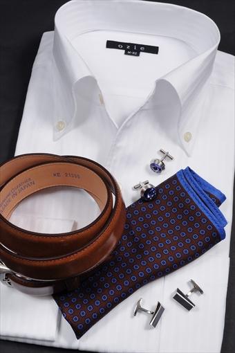通気性抜群のメッシュ織からみ織シャツ
