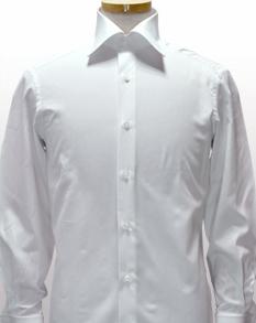後袖付け+立体パターンシャツ