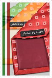 イタリア製生地・fabric by Italy・Italian fabric・ネクタイ/ワイシャツ/Yシャツ