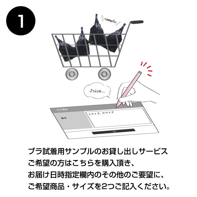 商品試着方法1