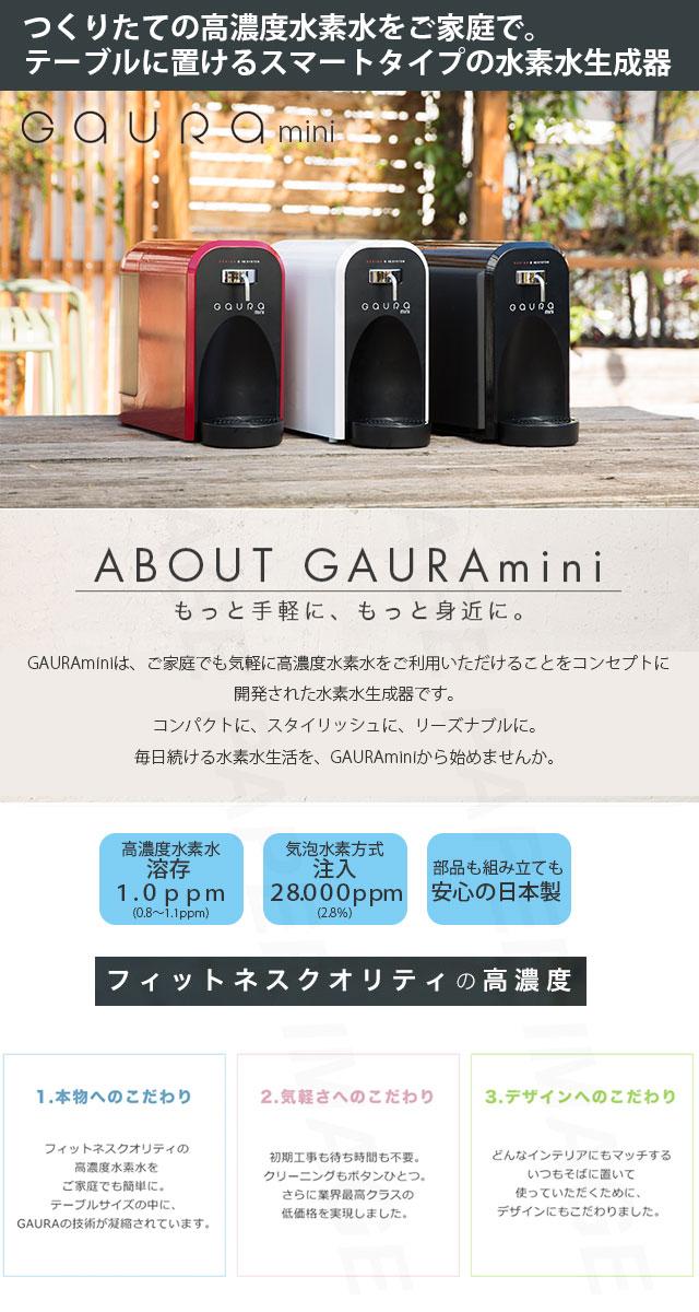 水素水生成器 GAURA mini ガウラミニ