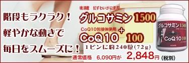 ���륳���ߥ�1500 + CoQ10 100