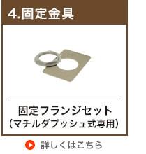 卓上手洗い器用固定金具(32mm規格排水金具用)