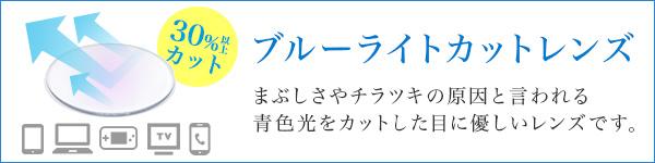 ブルーライトカットレンズ老眼鏡(HOYA製)