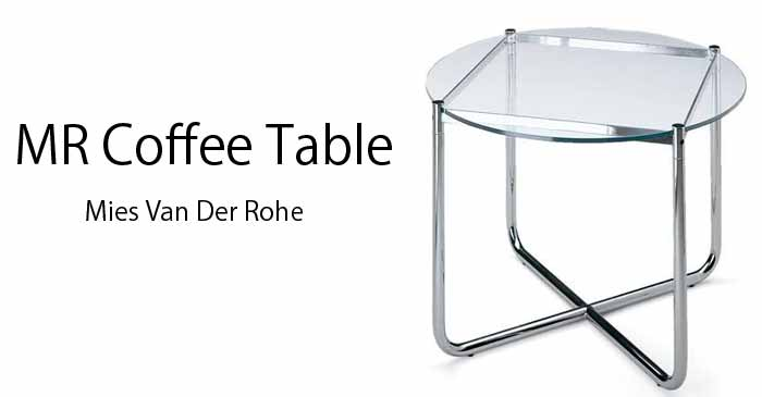 Mi Su Van Rohe S Mr Series Is Only The Table As The Round Table Is Just About 70 Cm In Diameter Of Good Size It Is As The Lounge Side Table The Advantage