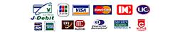VISA、マスター、JCBなどのクレジットカードが玄関カード払いで使えます