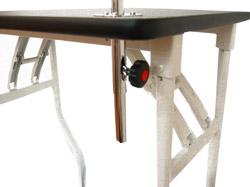トリミングテーブル,補強