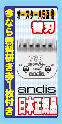 andis 替刃 日本正規品