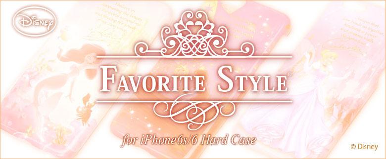 FAVORITE STYLEムービーコレクションiPhone6s/6対応ハードケース