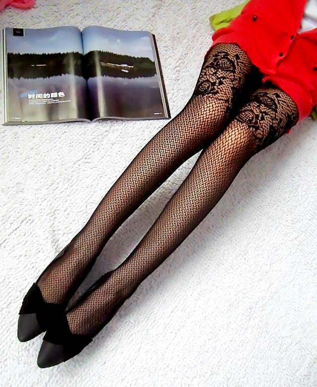 内衣裤·睡衣 女士袜·连裤袜 丝袜 花纹.