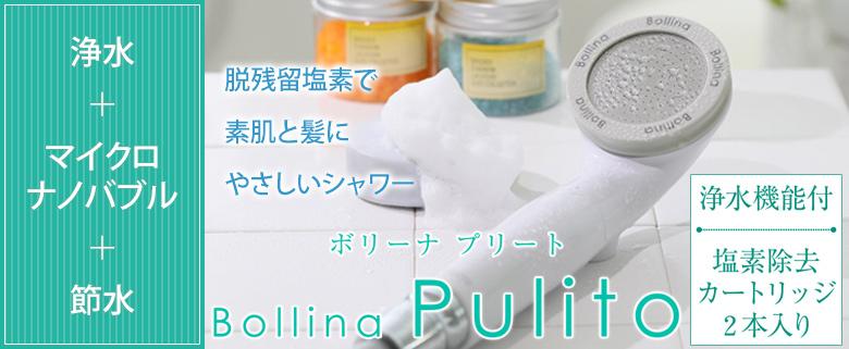 ボリーナプリート 塩素除去 節水シャワーヘッド