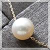 K18 ゴールド パール( 真珠 ) 一粒 ネックレス [ポルカ&ポルコ]