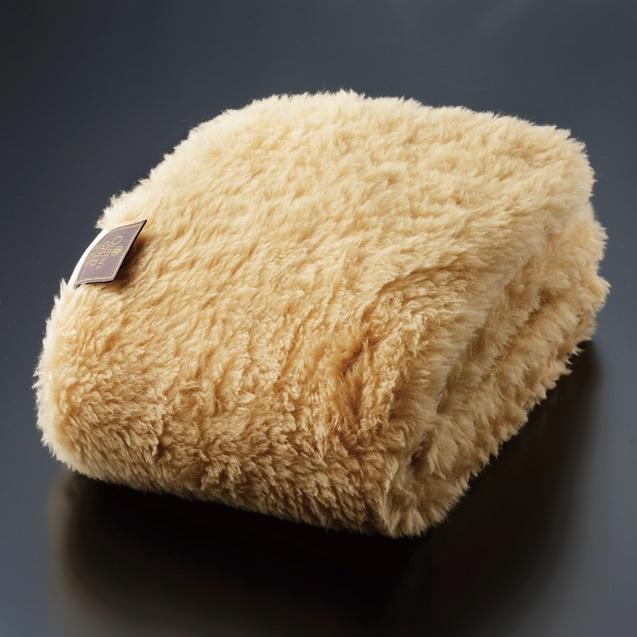 クイーンズゴールド敷き毛布