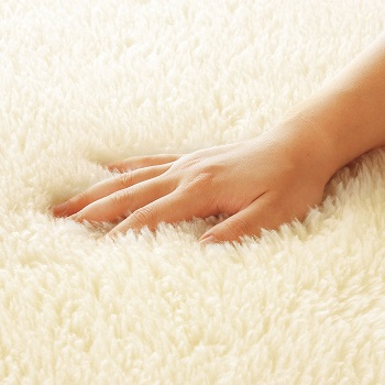ソフゥール敷き毛布