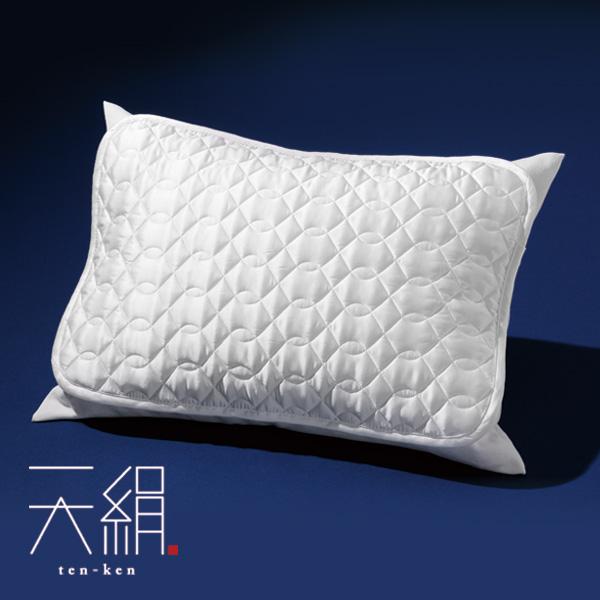 絹の枕パッド