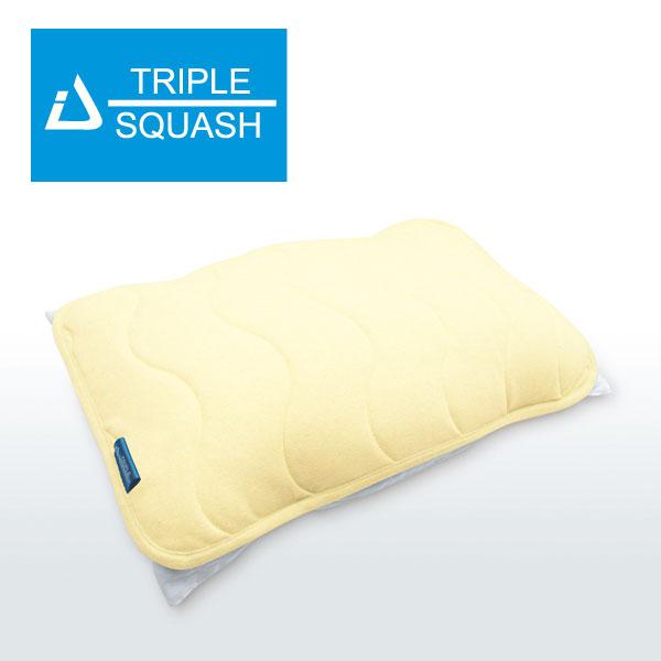 トリプルスカッシュ枕パッド
