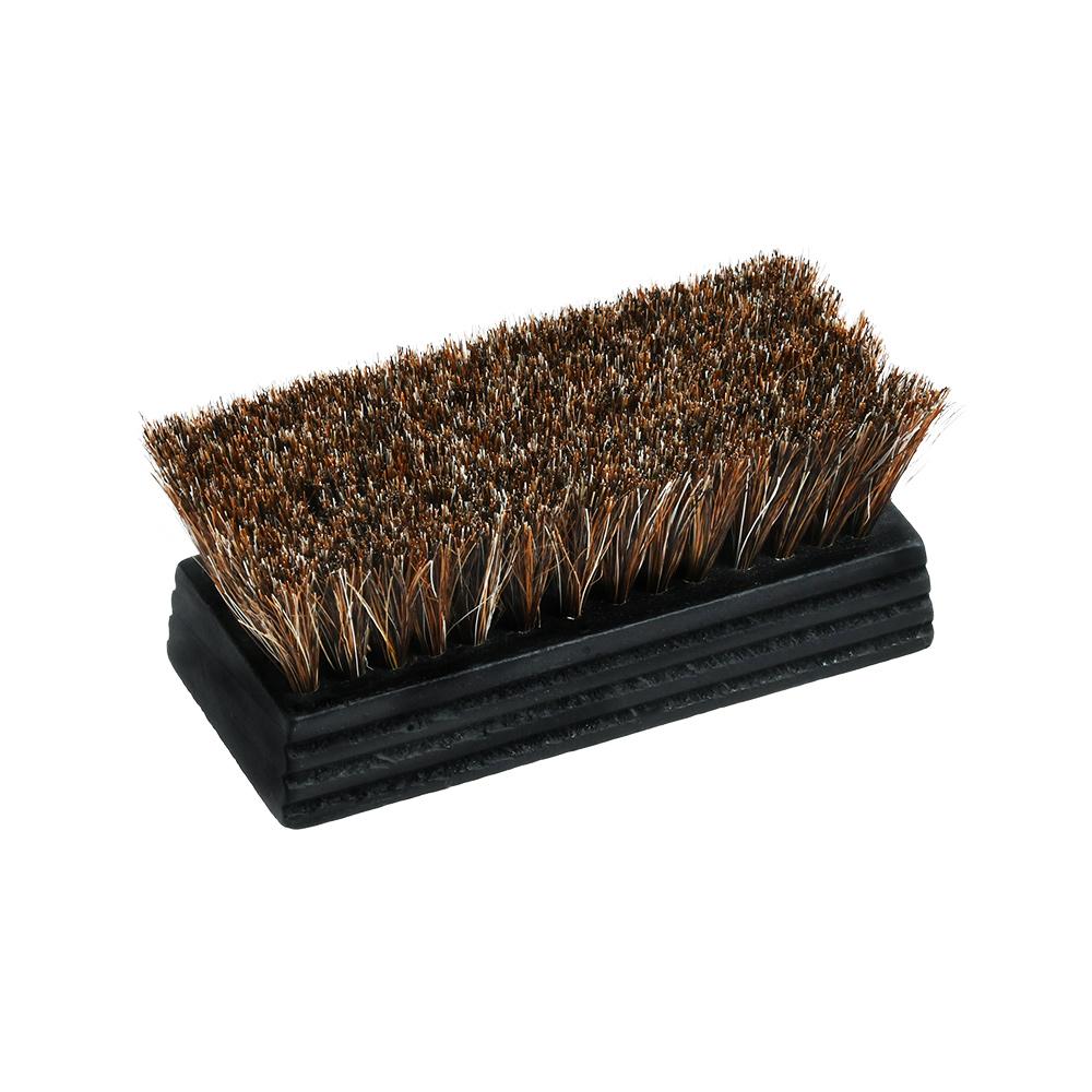 ホコリ取り用馬毛ブラシ(ミニ、ブラックコーティング)