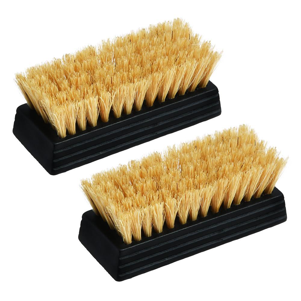 磨き上げ用豚毛ブラシ(ミニ、ブラックコーティング)