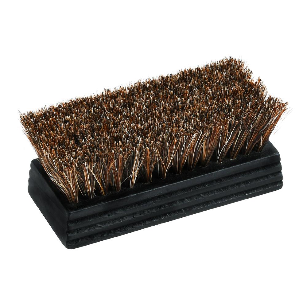 ホコリとり用馬毛ブラシ(ミニ、ブラックコーティング)