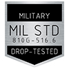 「MIL-STD-810G, Method 516.6 Procedure IV」認定