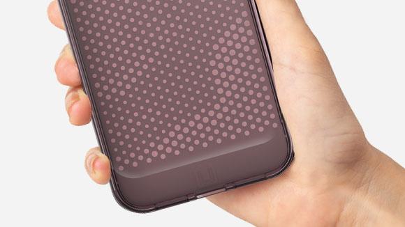 スマートフォン用LUCENT 手触りの画像
