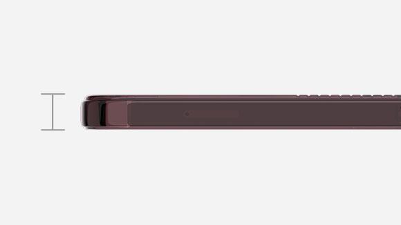 スマートフォン用LUCENT 軽さ薄さの画像