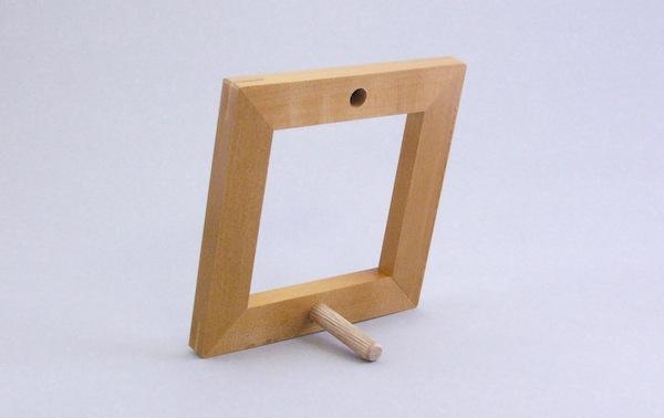 木枠フレーム 98mm用 小サイズ 裏面画像