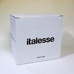 Italesse=イタレッセグランクリュシャンパングラスお得な6個セットは箱入り