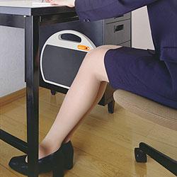 【日本製】遠赤外線デスク下用ヒーター 足元スポットウォーム