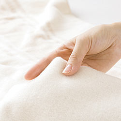 電磁波カット オーガニックコットン電気毛布(掛け敷き両用) やさしい手触り!コットン100%