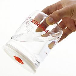 パイレックス 密閉保存容器(密閉パック)・1Lはさかさまにしても水もれしません!