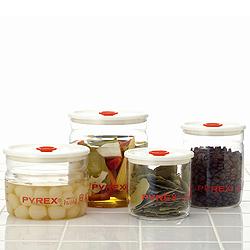 パイレックス 密閉保存容器(密閉パック)・1L幅広い食材を保存できます