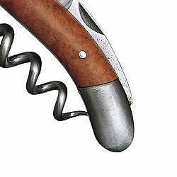 ソムリエナイフ シャトーラギオール アン・オブラック  ブライヤーウッド自然素材と手作りによる「個性」を