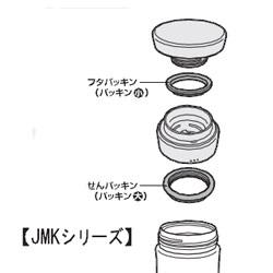 サーモスケータイマグ・パッキンの図