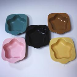【日本製】耐熱ホットケーキ用プレート・星型(ピンク)は、カラーバリエーションが豊富です。