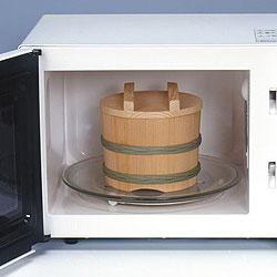 天然木製ですが、電子レンジ加熱対応です!!