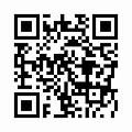 天然木製 渕彫 ちゃぶ台 拭漆 (直径45cm) 丸型のQRコード