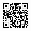 天然木製 渕彫 折りたたみ ちゃぶ台 拭漆 (直径60cm) 丸型のQRコード