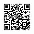 【津軽びいどろ】日本製・丸型・一輪挿し(水風船柄)夕雲 f-71267のQRコード