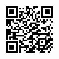 【津軽びいどろ】日本製・丸型・一輪挿し(水風船柄)星月夜 f-71270のQRコード