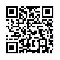 【津軽びいどろ】日本製・水盤型花器・f-79816のQRコード