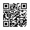 【津軽びいどろ】日本製・花器(十和田)f-79823のQRコード